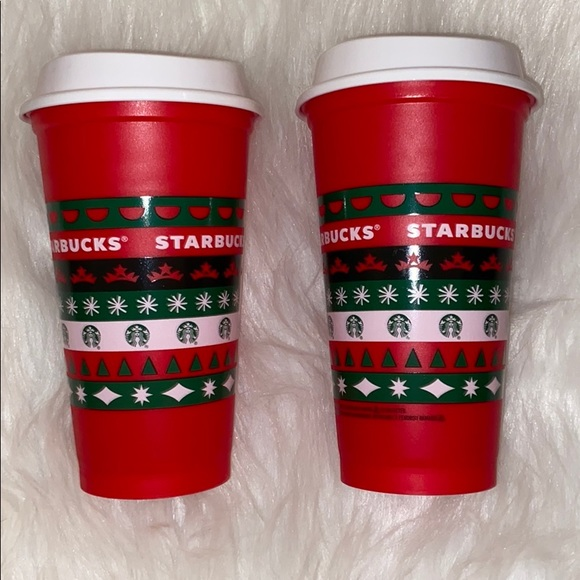 Starbucks Holiday Limited Edition Red Cups 16oz